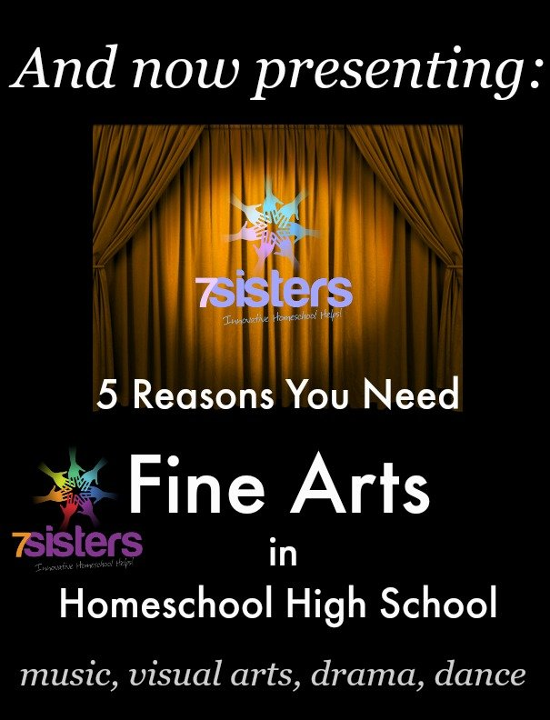 5 Reasons You Need Fine Arts in Homeschool High School
