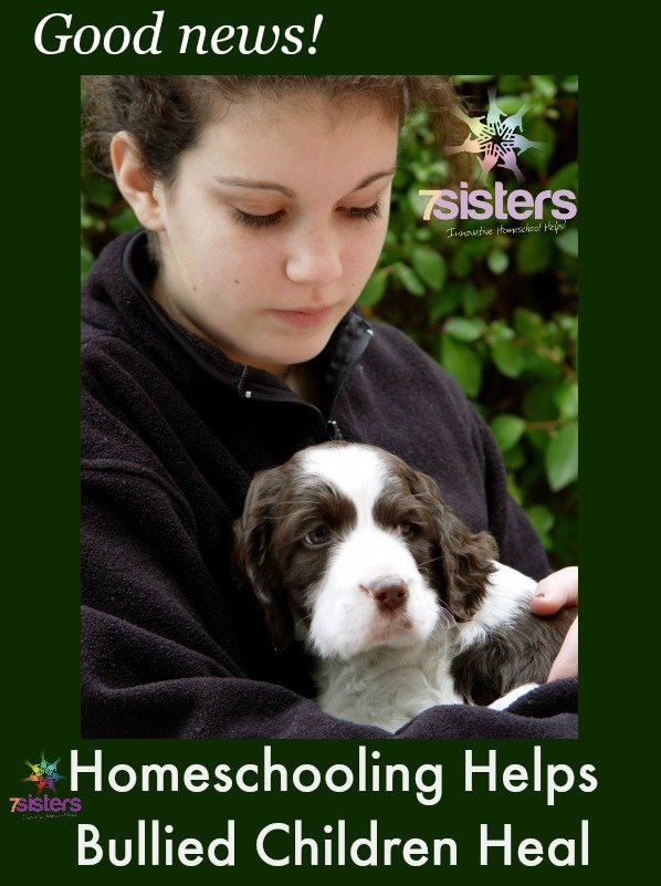 Homeschooling Helps Bullied Children Heal 7SistersHomeschool.com