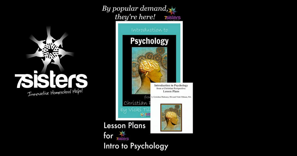 Lesson Plans for Introduction to Psychology from a Christian Perspective 7SistersHomeschool.com for groups or individual instruction