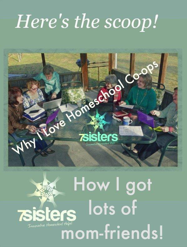 Why I Love Homeschool Co-ops 7SistersHomeschool.com