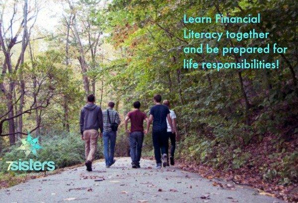 Learn Financial Literacy in co-op 7SistersHomeschool.com