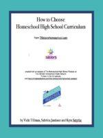 How to Choose Homeschool High School Curriculum