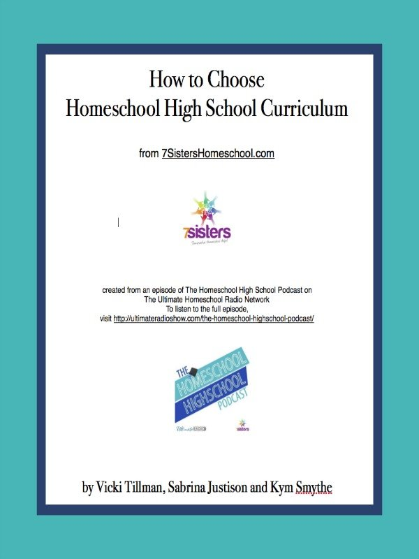 How to Choose Homeschool High School Curriculum