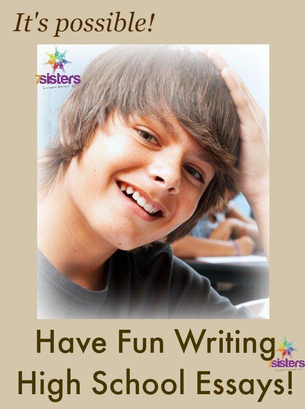 Have Fun Writing High School Essays