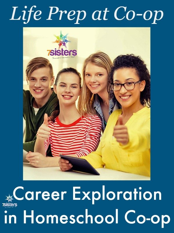 How to do Career Exploration in Homeschool Co-op 7SistersHomeschool.com