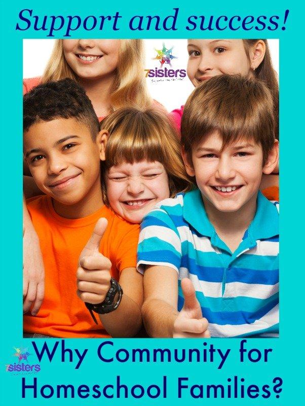 Why Community for Homeschool Families 7SistersHomeschool.com