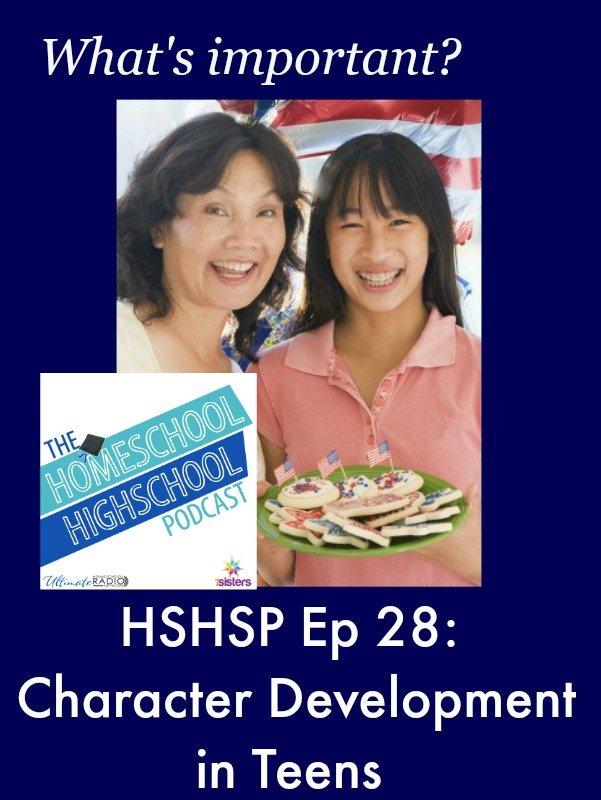 HSHSP Character Development for Teens