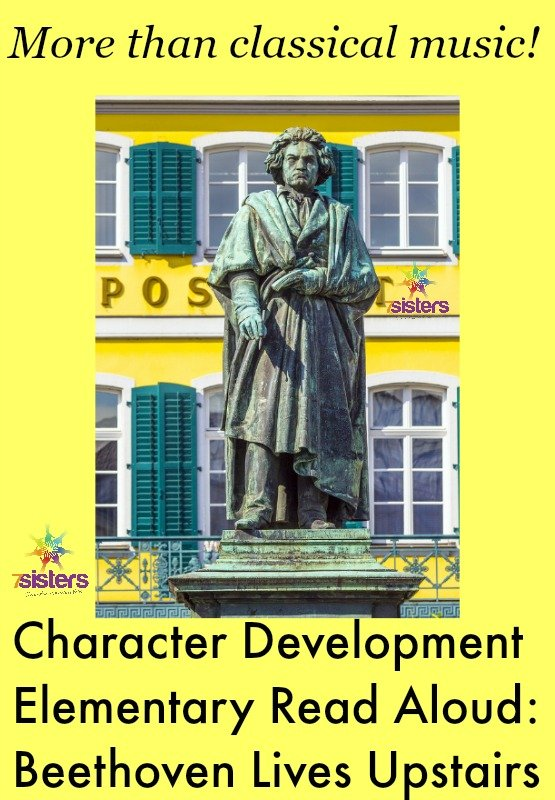 Character Development Elementary Read Aloud: Beethoven Lives Upstairs