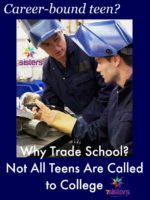 Why Trade School? Not All Teens Are Called to College