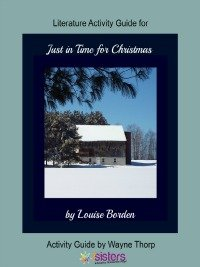 Just in Time for Christmas Elementary Literature Activity Guide 7SistersHomeschool.com