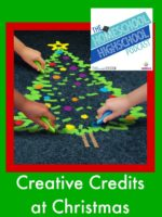 Homeschool Highschool Podcast Episode 37: Creative Credits at Christmas