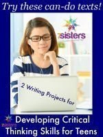 2 Writing Projects for Developing Critical Thinking Skills for Teens