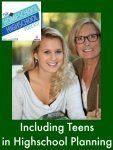 Homeschool Highschool Podcast Episode 44 Including Teens in Planning