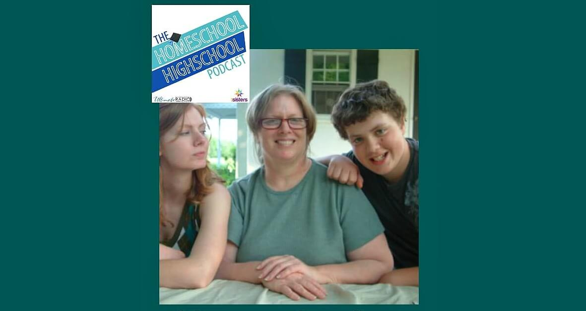 HSHSP Ep 46 Homeschooling High School When Life Happens How to handle homeschooling when life is difficult. #HomeschoolHighSchool #HomeschoolChallenges