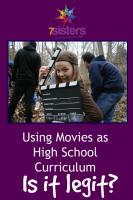 Using Movies as High School Curriculum – Is It Legit?