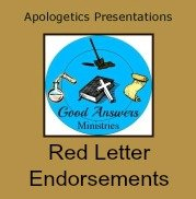 Good-Answers Red Letter Endorsements 7SistersHomeschool.com