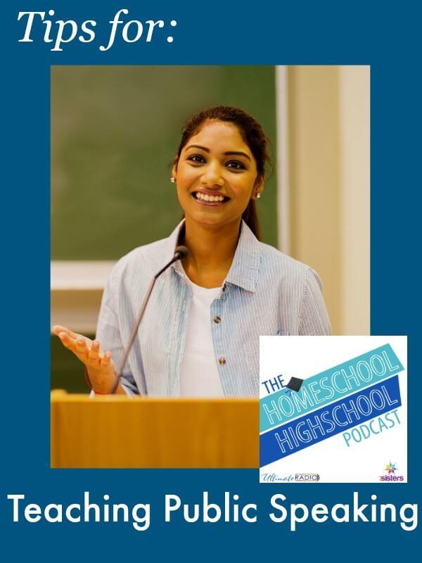 HSHSP Ep 59 Tips for Teaching Public Speaking