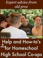 Help and How-to's for Homeschool High School Co-ops