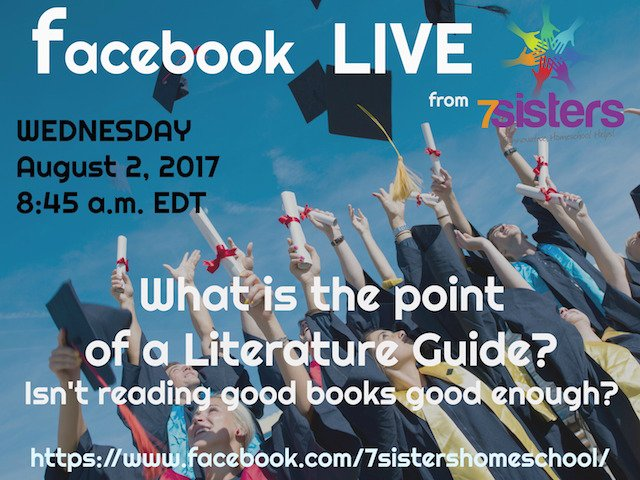 Curricula archives 7sistershomeschool 7sisters literature guides facebook live video fandeluxe Choice Image