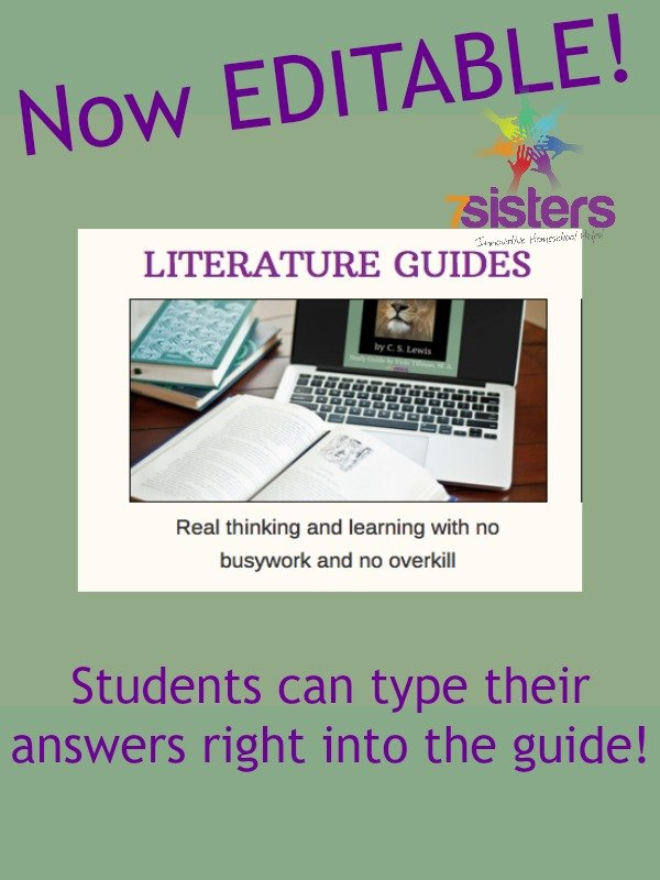 7Sisters Literature Guides are now editable!