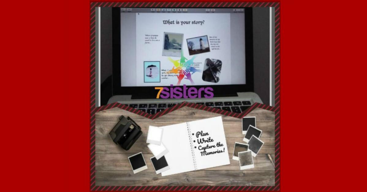 Meaningful Senior Year Writing Project: Creative Chronicling 7SistersHomeschool.com