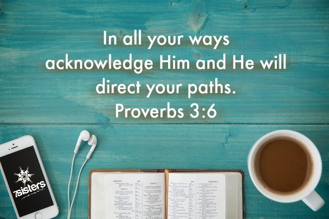 In all your ways acknowledge Him and He will direct your paths. Proverbs 3:6. 5 Reasons Why We need the Holy Spirit in our Homeschools. 7SistersHomeschool.com