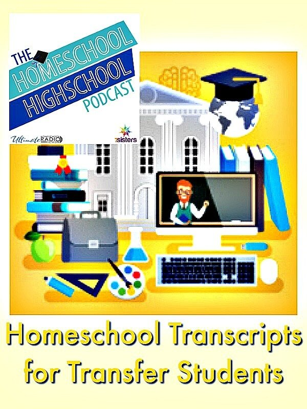 HSHSP Ep 76 Homeschool Transcripts for Transfer Students