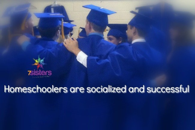 Homeschoolers are socialized and successful 7SistersHomeschool.com
