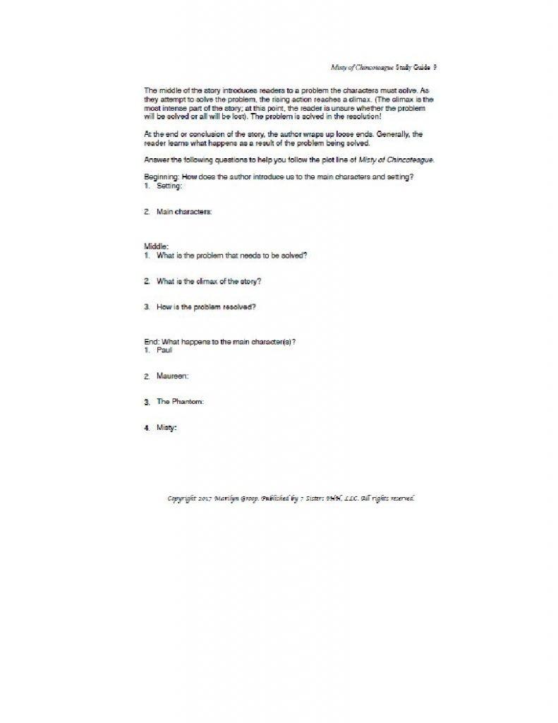 Misty literature guide excerpt 2
