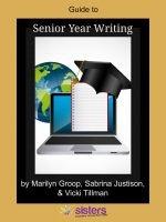 High School Guide to Senior Year Writing
