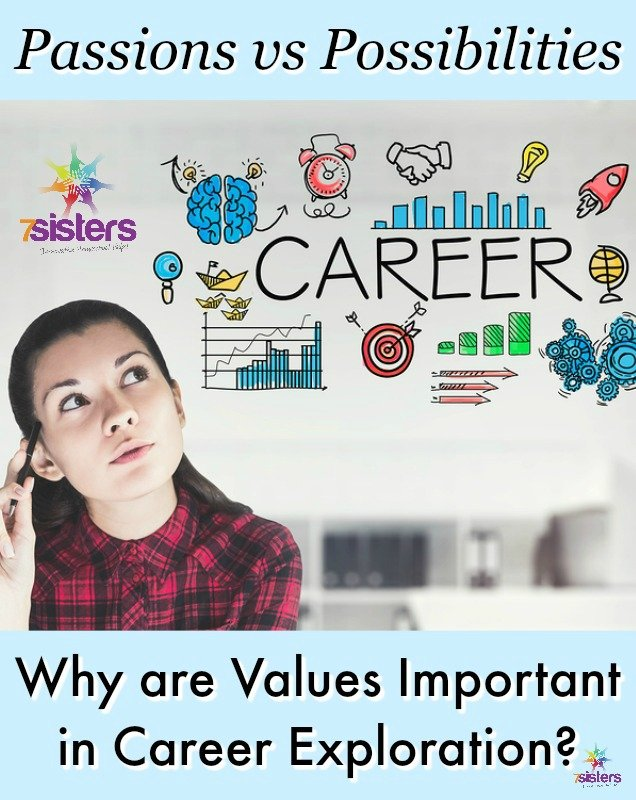 What are -Values- and Why are Values Important in Career Exploration- 7SistersHomeshool.com
