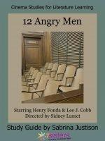 12 Angry Men Cinema Study Guide
