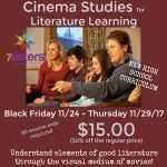 NEW Cinema Studies for Literature Learning in High School
