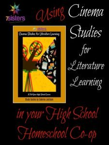 Cinema Studies in High School Homeschool CoOp