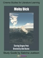 Moby Dick Cinema Study Guide