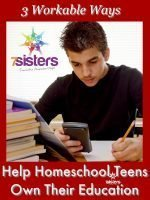 3 Workable Ways to Help Homeschool Teens Own Their Education