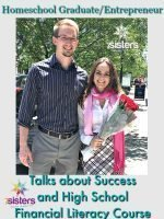 Homeschool Graduate and Entrepreneur Talks about Success and Financial Literacy