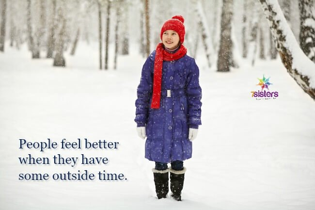 Feel better when you have some time outside 7SistersHomeschool.com