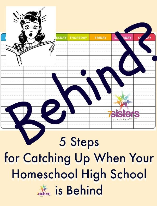 for Catching Up When Your Homeschool High School is Behind