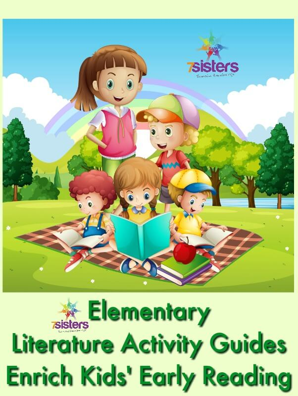 Elementary Literature Activity Guides Enrich Kids' Early Reading 7SistersHomeschool.com