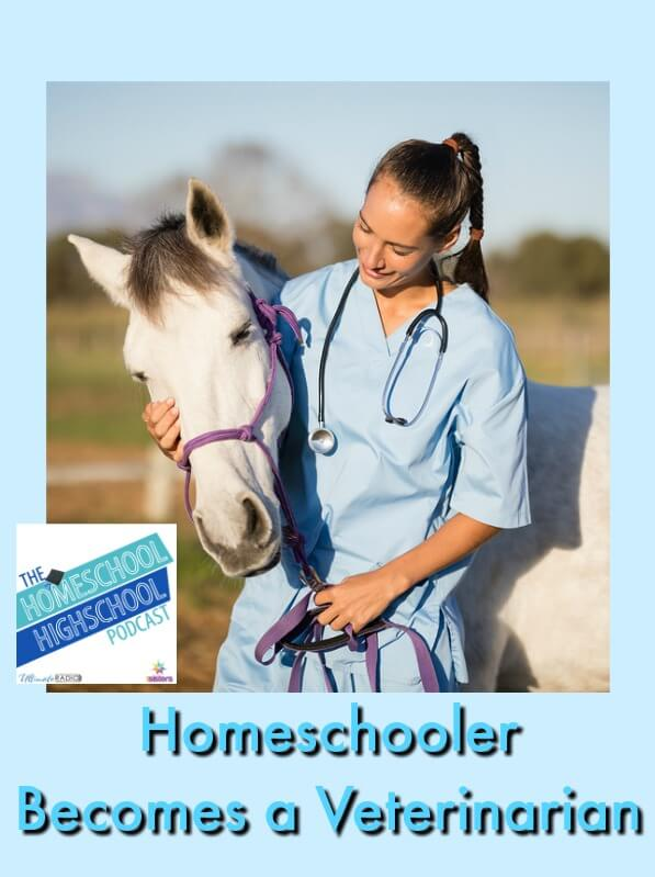 HSHSP Ep 122: Homeschooler Becomes a Veterinarian, Interview with Dr. Sarah Varnell