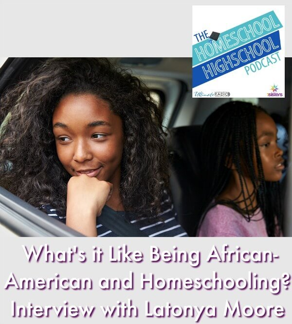 HSHSP Ep 127: What's it Like Being African-American and Homeschooling? #AfricanAmericanHomeschoolingFamilies This photo shows a family in a car on a road trip