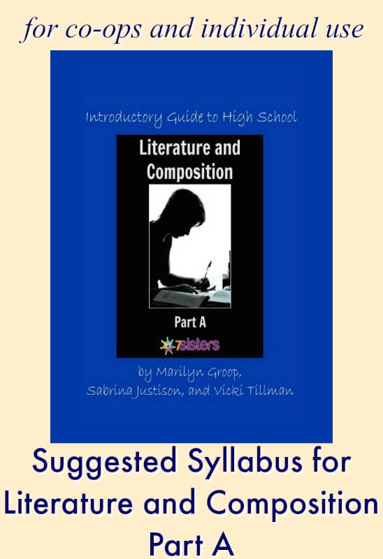 Suggested Syllabus for Literature and Composition Part A