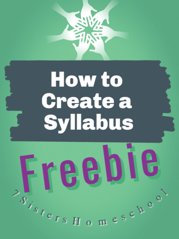 how to create a syllabus